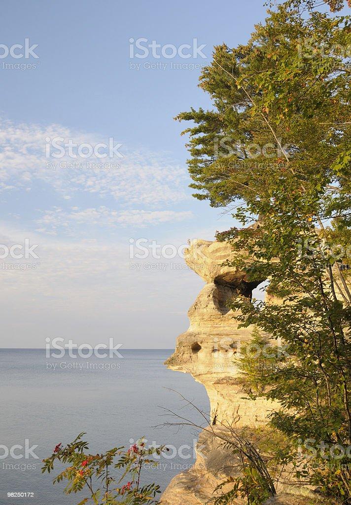 Chapel Rock royalty-free stock photo