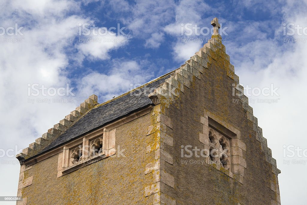 chapel roof royalty-free stock photo
