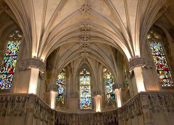 Chapel where Leonardo da Vinci is buried.
