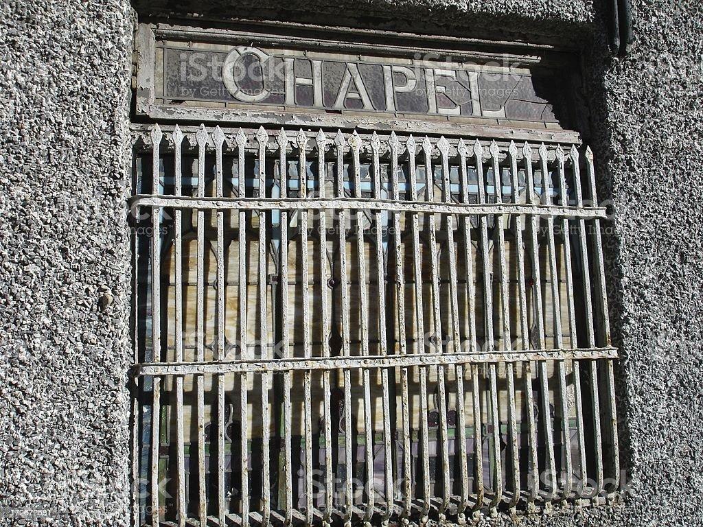Chapel Window royalty-free stock photo