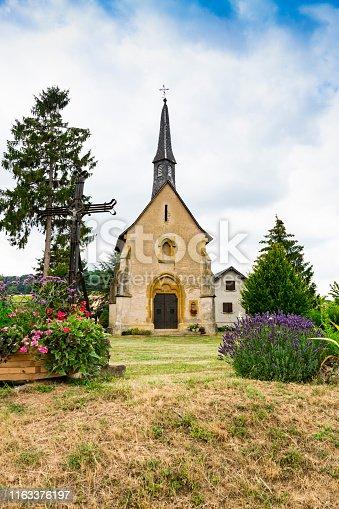 Chapelle Notre Dame de la Salette. Lorry Mardigny, France