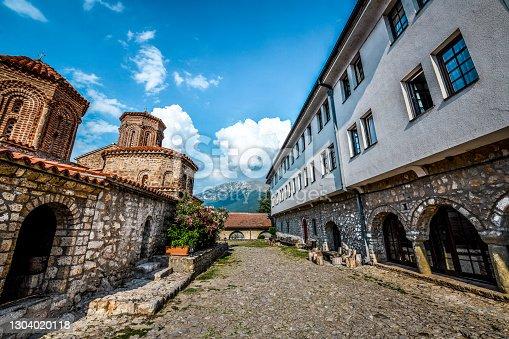 Chapels And Monastery Lodgings At St. Naum Monastery In Ohrid, Macedonia