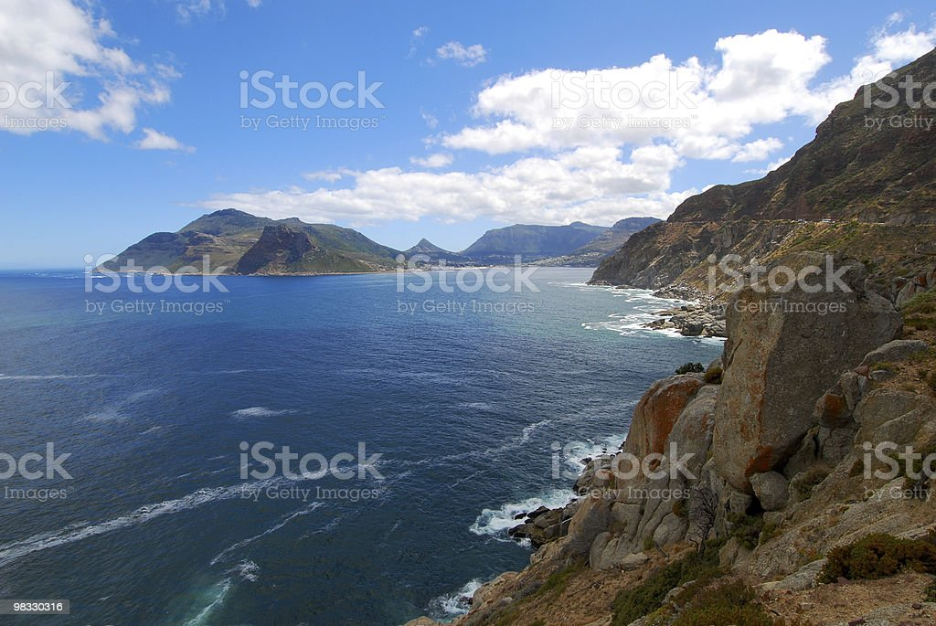 Chapmans Peak Drive Cape Town royalty-free stock photo