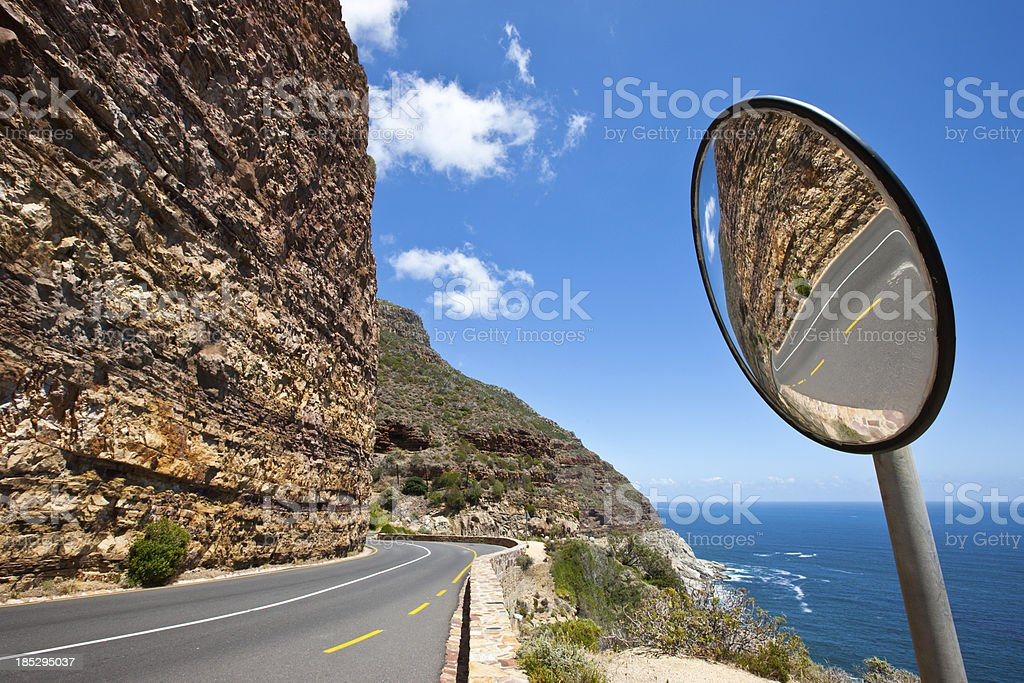 Chapman's Peak Drive Cape Town South Africa stock photo
