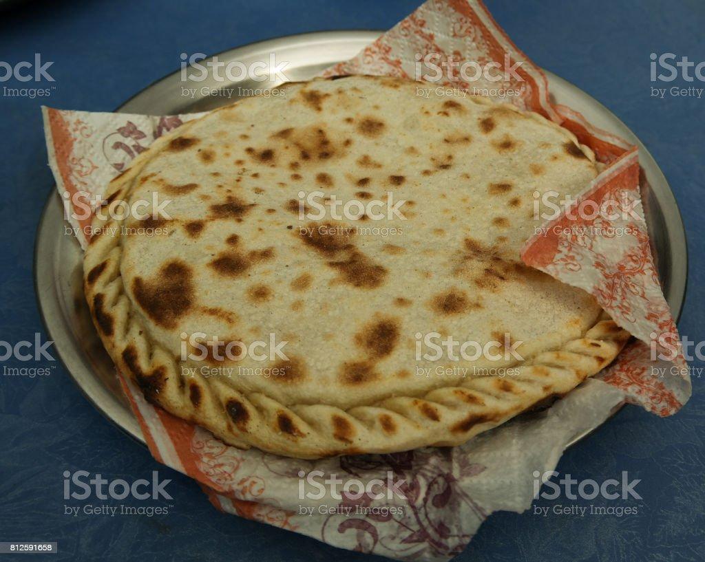 Chapshuro the most delicious dish of Gilgit Baltistan , Pakistan stock photo