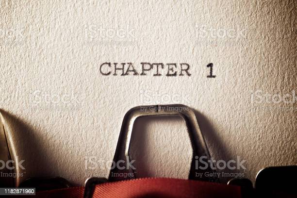 Chapter 1 Stock Photo - Download Image Now
