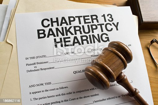 istock Chapter 13 Bankruptcy. 186862116