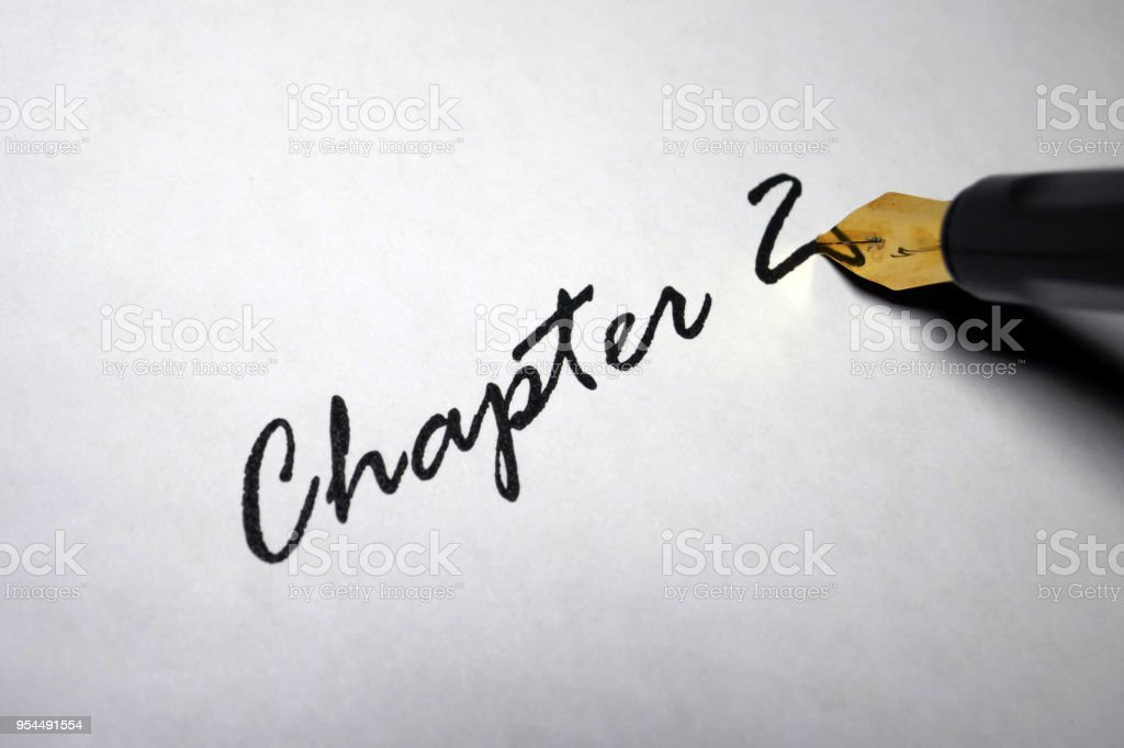 Chapter 2 stock photo