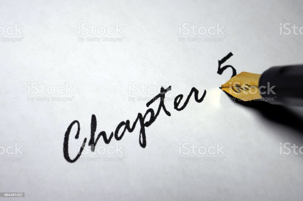 Chapter 5 stock photo