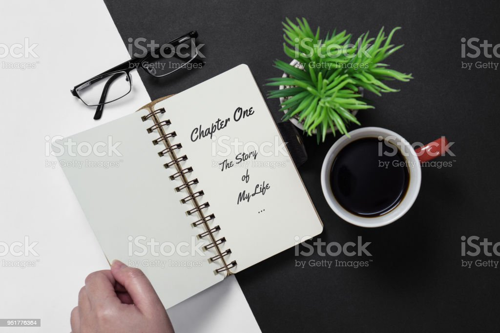 Chapter One: Story of My Life stock photo