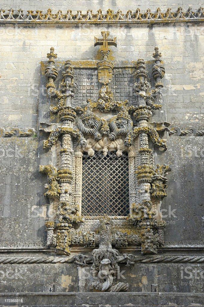 Chapterhouse window royalty-free stock photo