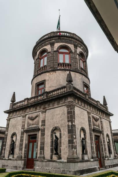 Chapultepec castle astronomic centre stock photo