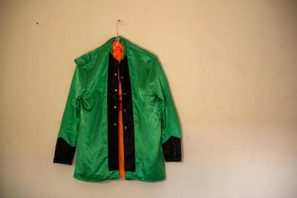 chaqueta de jockey stock photo
