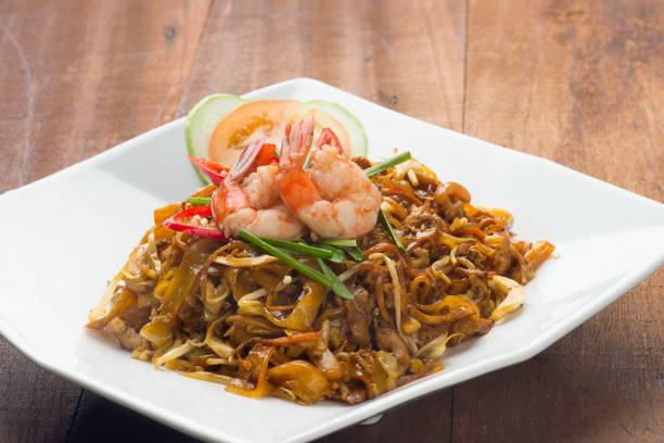 Char Kway Teow. stock photo