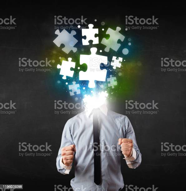 Character in suit with puzzle head concept picture id1196025098?b=1&k=6&m=1196025098&s=612x612&h=tlo5hgmi2ilybom42mbuewfjvua0ttoy7gb9vm0q 00=