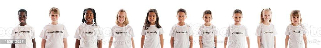 Character traits stock photo