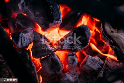 istock Charcoal fire 1078538694