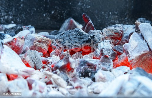 istock Charcoal Fire 1087256056