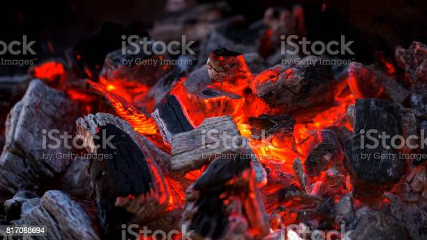 Photo of Charcoal fire