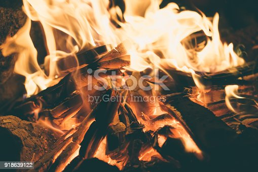 istock Charcoal fire 918639122