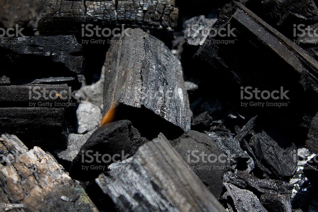 Charcoal royalty-free stock photo