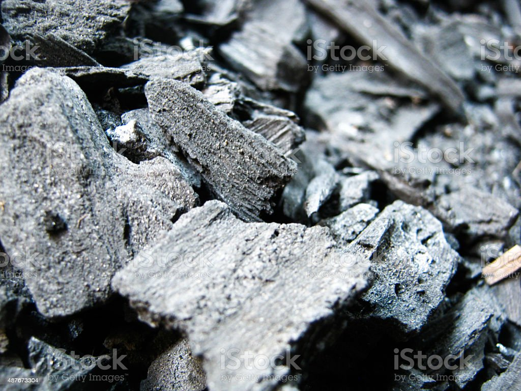 charcoal stock photo