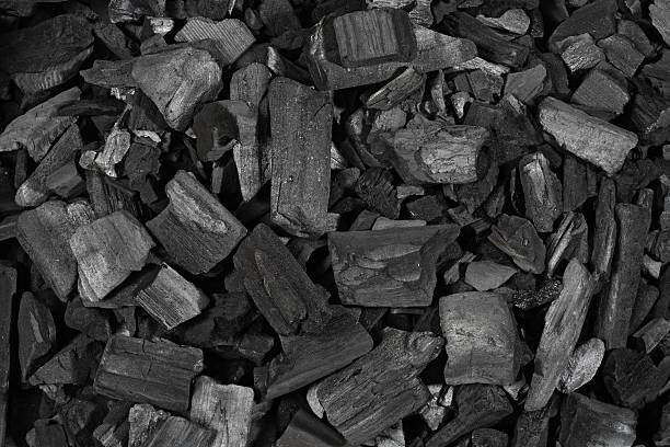 Charcoal stok fotoğrafı