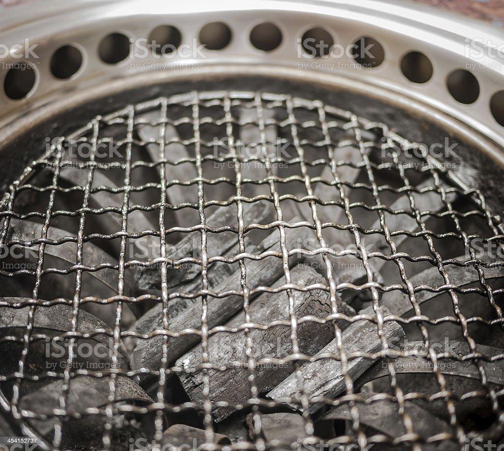 Charcoal stove royalty-free stock photo