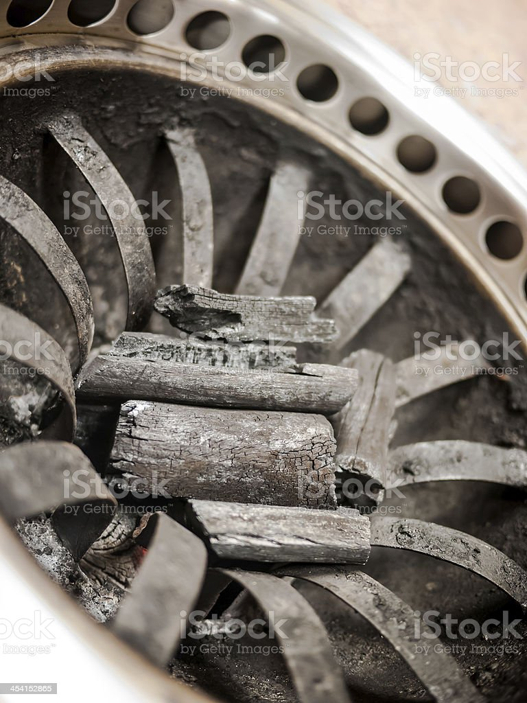 Charcoal stove royalty-free stock photo