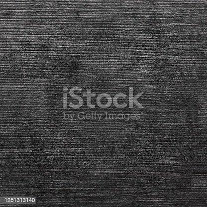 655272874 istock photo Charcoal velvet curtain fabric texture 1251313140