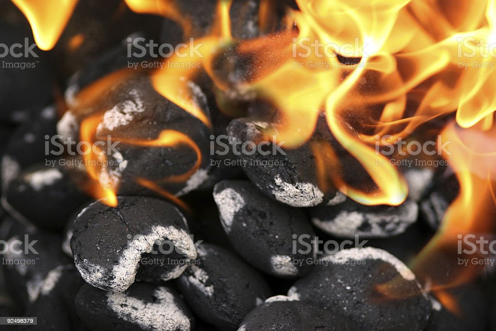 Charcoals royalty-free stock photo
