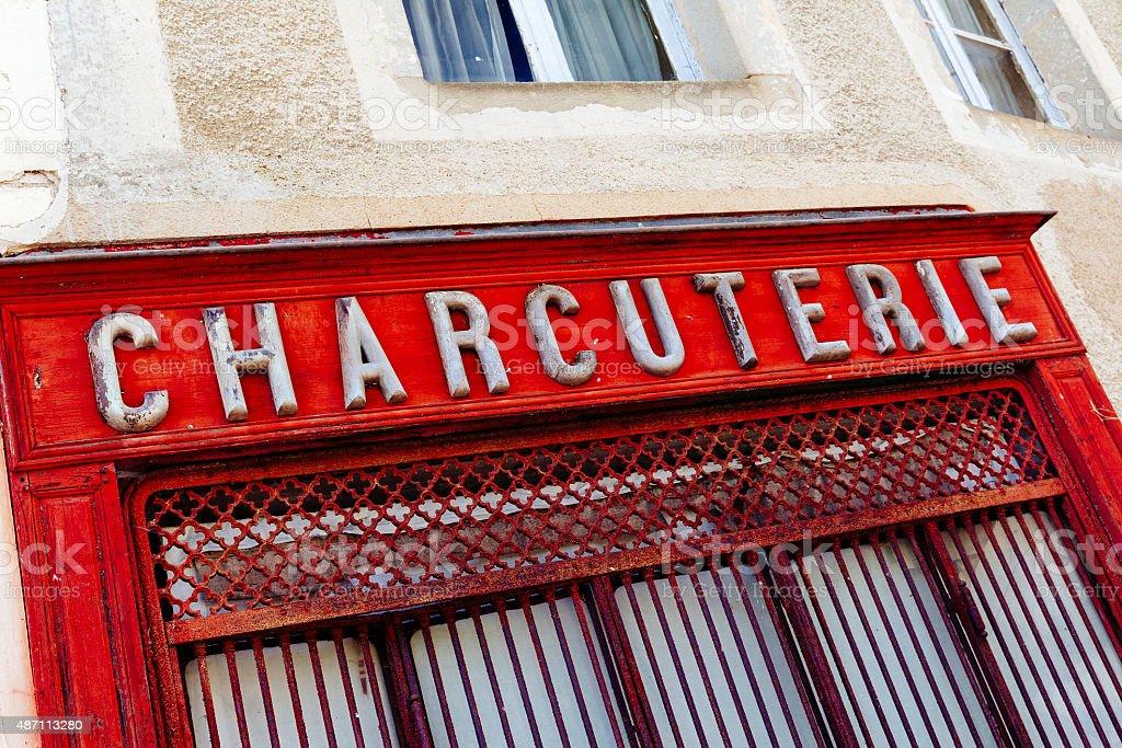 Charcuterie (Schlächtern – Foto