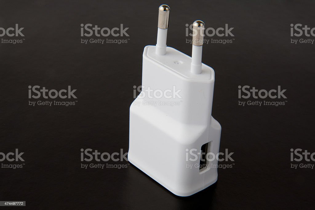 charger for mobile phone stock photo