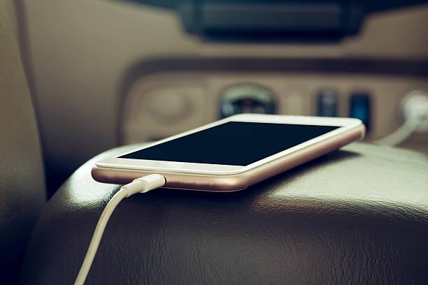 Ladegerät für Handy auf Auto Stecker – Foto