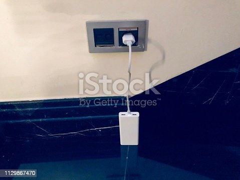 istock Charging battery 1129867470