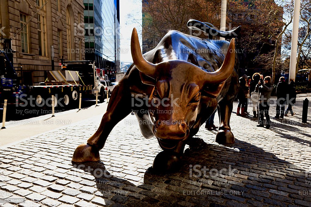 Ricarica Bull - foto stock