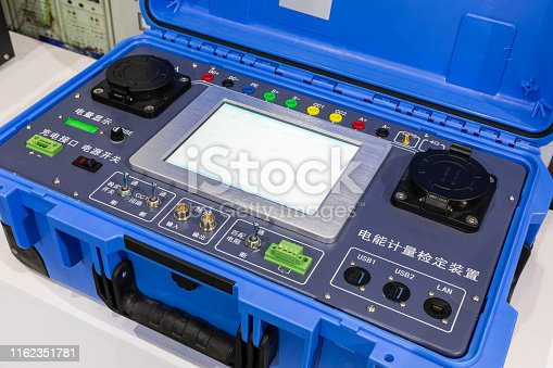 istock DC charging pile electric energy measurement and verification device 1162351781