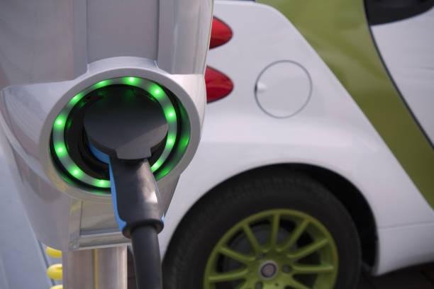 Ladestation für elektrische und hybrid-Auto – Foto