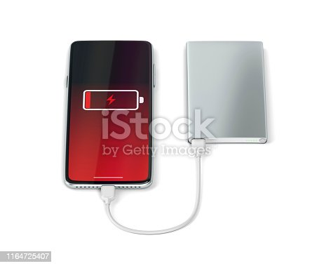 Charging modern smartphone with a power bank