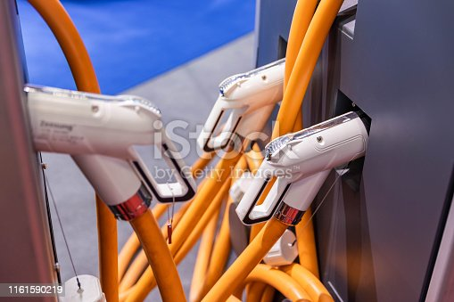 istock Charging station for electric car 1161590219