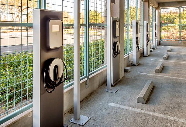 Station de recharge pour les voitures électriques - Photo