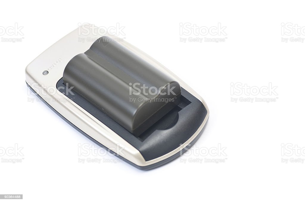 Charging your camera battery royalty-free stock photo