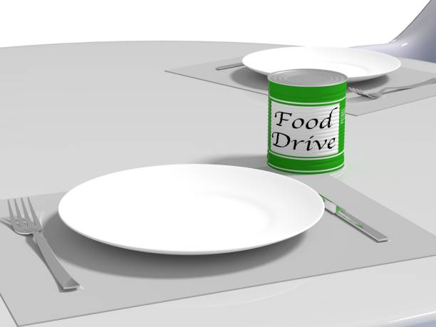 Canned Goods Soup Kitchen Food Bank