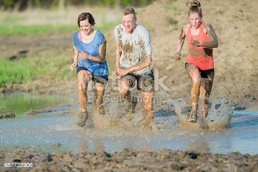 687723318istockphoto Charity Mud Run 687722906