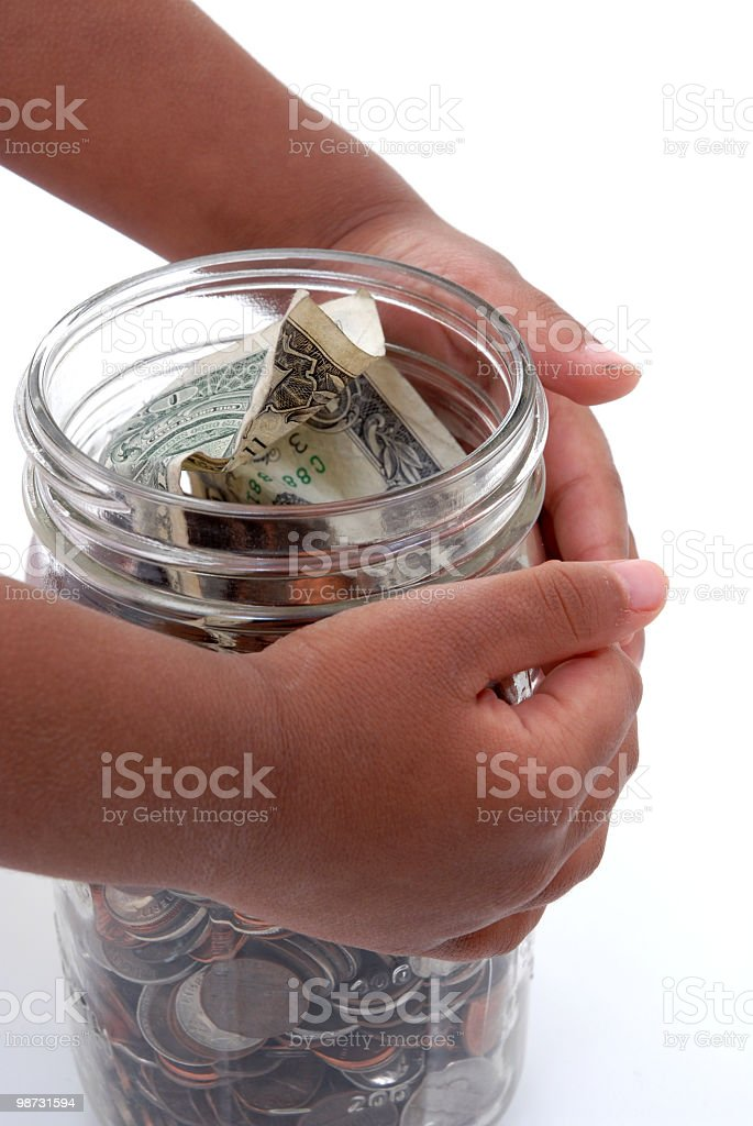 Charity royalty-free stock photo