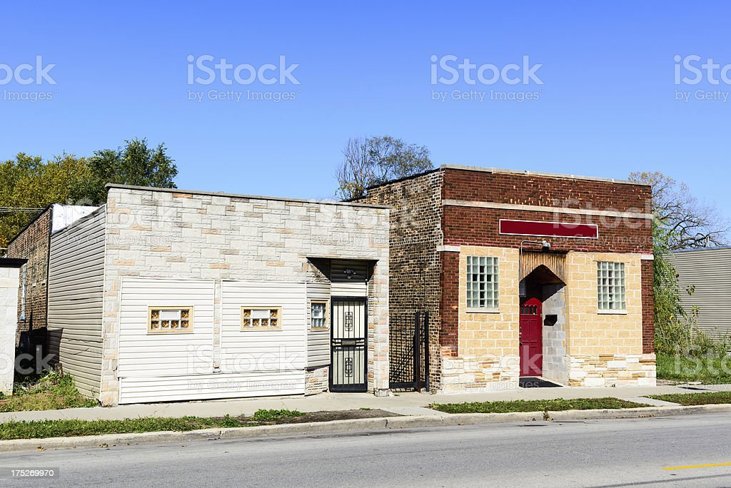Charity Tabernacle in Burnside, Chicago royalty-free stock photo