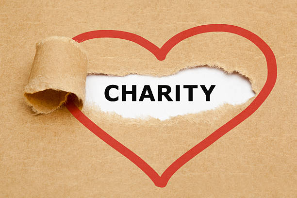 charity torn paper - contributor stock pictures, royalty-free photos & images