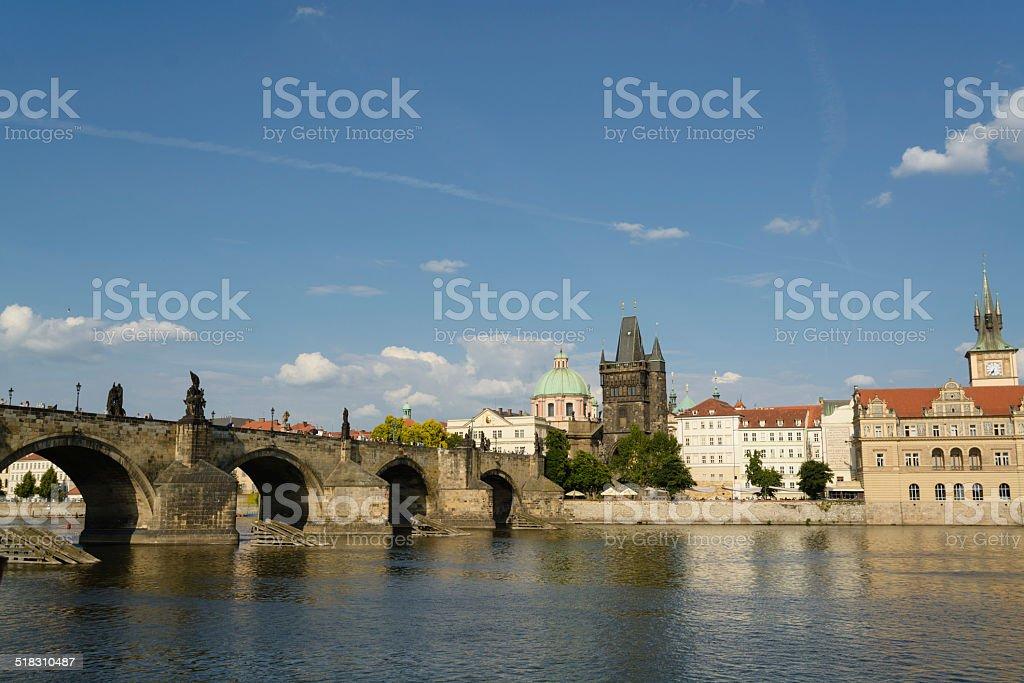 Ponte Carlos em Praga - foto de acervo