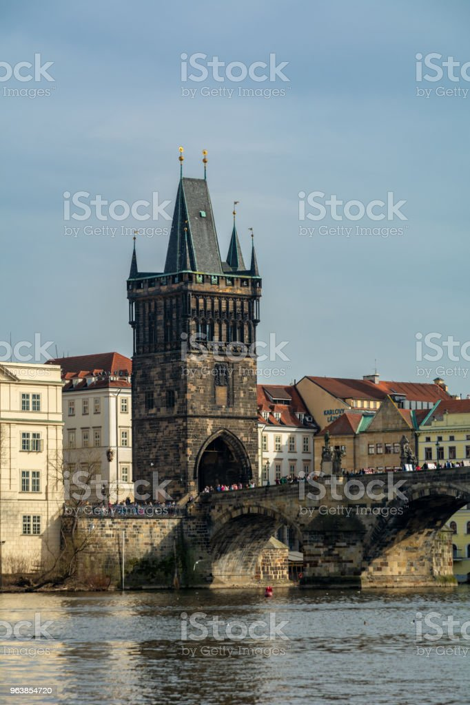 Charles bridge in Prague - Royalty-free Architecture Stock Photo