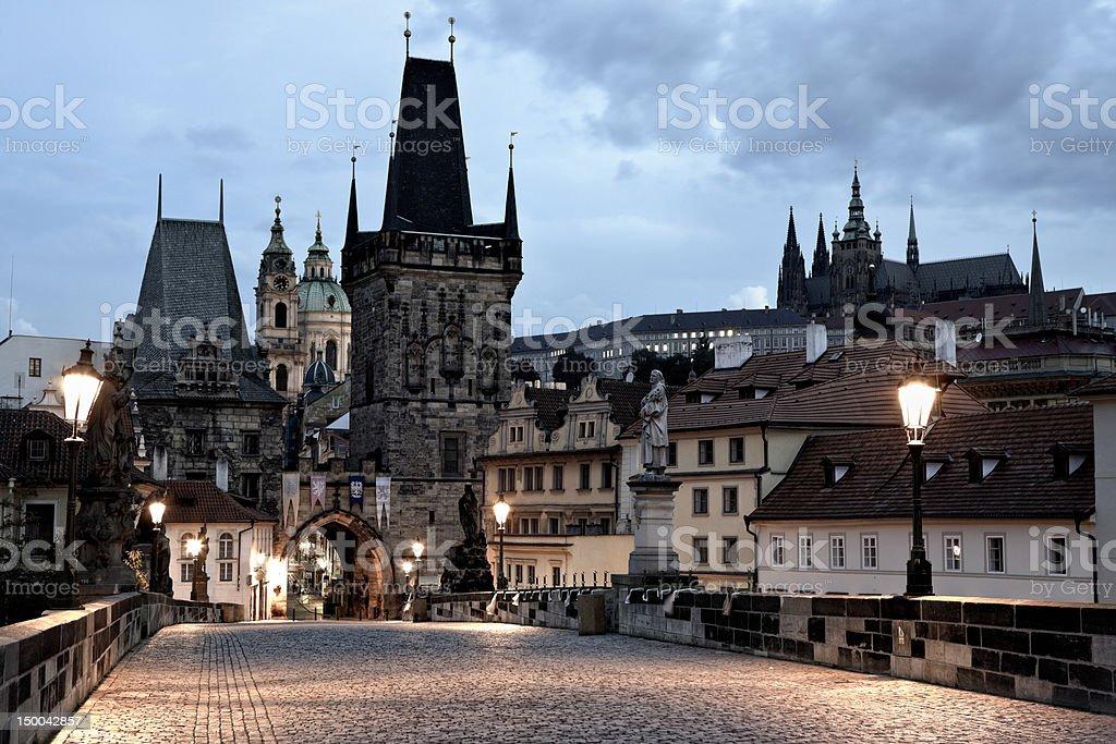 Charles Bridge, Prague, Czech Republic royalty-free stock photo